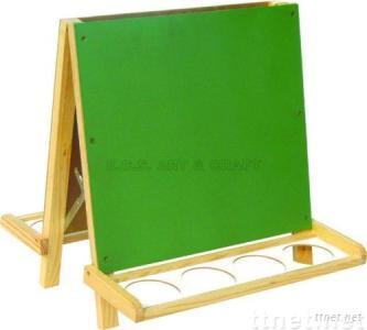 ECS16120, Easel, Wooden Easel, Double Face Easel, Artist Easel, Children Easel
