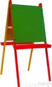 ECS16121, Easel, Wooden Easel, Double Face Easel, Artist Easel, Children Easel