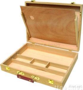 ECS16191, Wooden Box, Artist Wooden Box, Box, Beech Box, Elm Box