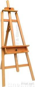 ECS16132, Wooden Lyre Easel, Artist Easel, Children Easel