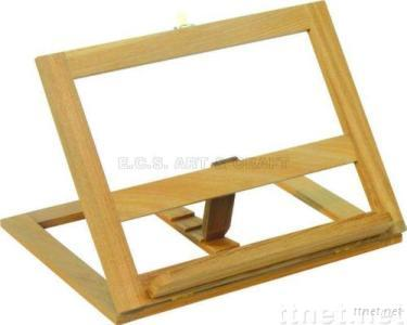 Wooden Book Stand, Book Stand Beech or Elm