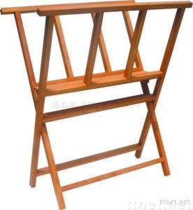 ECS16107, Book Stand, Wooden Book Stand, Book Stand Beech or Elm, Artist Book Stand, Children Book Stand