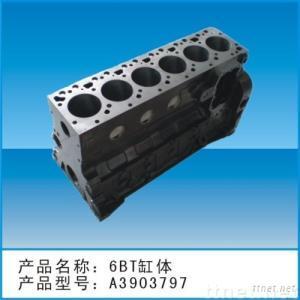 cummins parts (cylinder block)