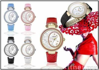 Sports watch jewelry watch quartz watch fashion watch wrist watch swiss watch crystal watch lady's watch MOONLIGHT