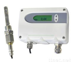 Moisture detector for testing the water content in the oil