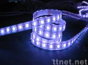 Flexible RGB LED strip light with IC