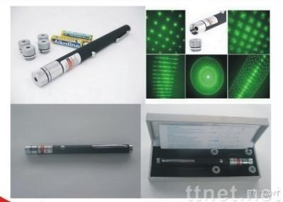 Starriness Green Laser Pointer with 5 Patterns 5mw