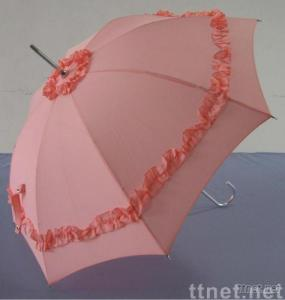 Elegant pink princess umbrella