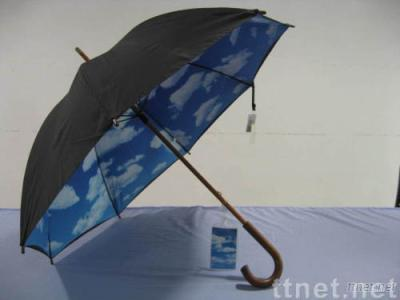 Bluesky 2-layer Wooden Golf Umbrella