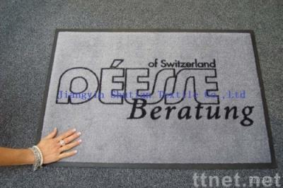 pvc door mat, printed nylon fabric