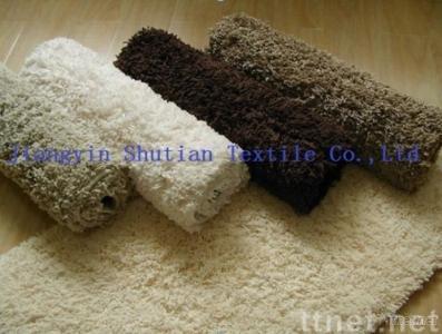 flocking microfiber rugs