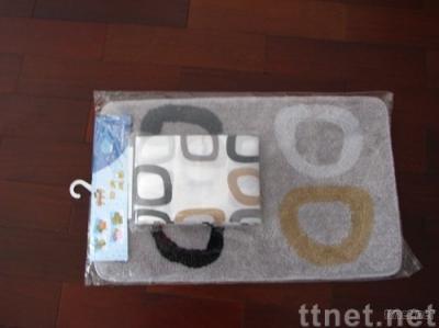 Shower Curtain & Bath Mat