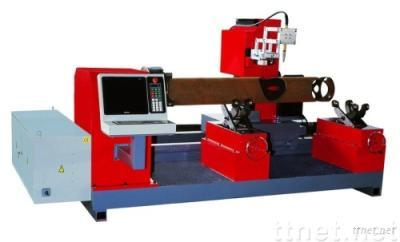 CNC Intersecting Bevel Pipe Cutting Machine