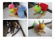 pluche schommelend speelgoed
