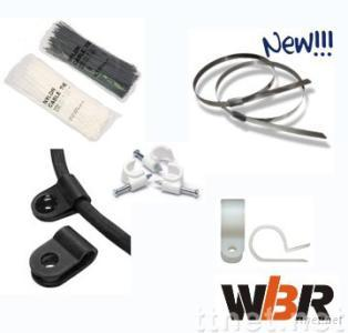 Wiring accessories-cable tie, cable clip, cable clamp