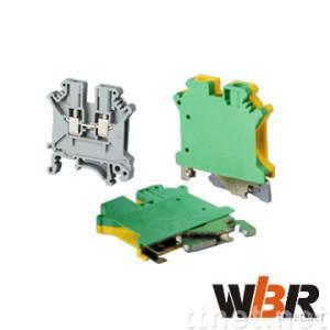 Din rail universal terminal blocks- UK series