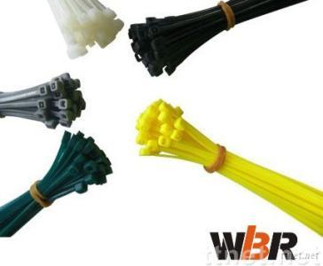 Nylon cable tie -self-locking type and other types