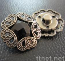 Zinc-alloy Buttons