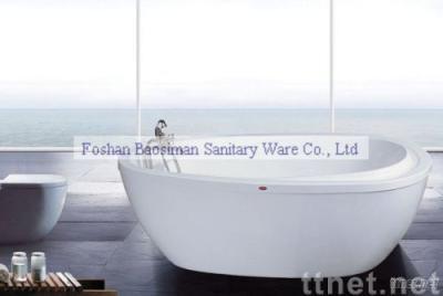 acrylic classic bathtub BSM-865