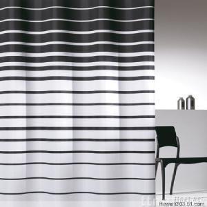 PVC/PEVA shower curtain Polyester shower curtain