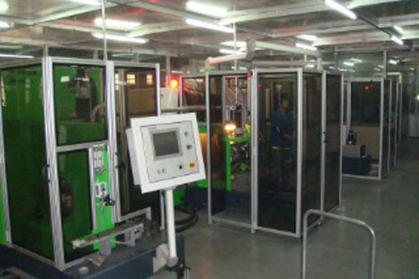 laser welded blade work place