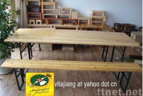 ビールテーブル及び椅子