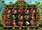 Juego de juego de la moneda de la CIUDAD del TESORO del casino de la ranura video DE ORO de la máquina