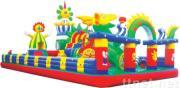 inflatable amusement park,castle,slide,climbing,arch,cartoon,balloon,air dancer,sky dancer,tent,model,toy....