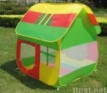 Children play huts