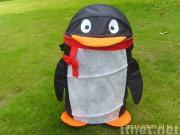 Penguin Shape Storage Bin