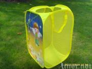 Square fairy storage bin