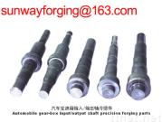 forging part of input and output shaft