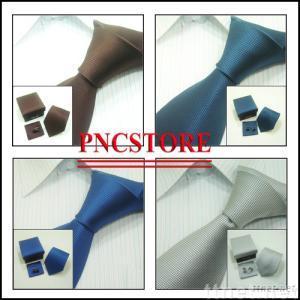 Men's shirts Ties Neckties set: men's ties+hanky+cufflinks ,mix order,ST10