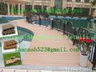 wood plastic decking flooring board