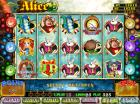 Video slot game- Alice