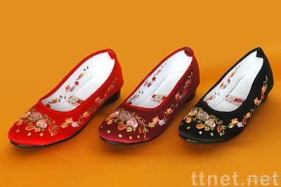 Elder Embroidery Shoes,Embroidery Shoes
