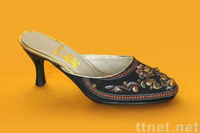 Embroidery Slipper,Women Embroidery Shoes