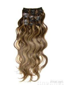 Clip-in hair