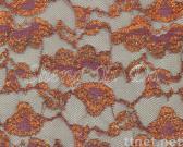 Elastic Gold-metallic Lace