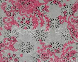Fashion Printing Lace Fabrics