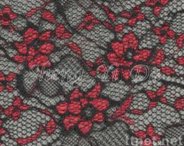 Red Flower Dress Lace