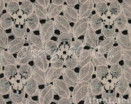 Cotton Mesh Lace Fabric