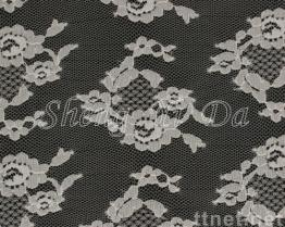 100% Nylon Mesh Lace Fabric