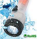 LED Waterproof  Shaking  Flashlight
