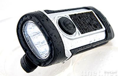 Solar LED Waterproof Flashlight