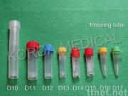 plastic freezing tube and cryovial tube
