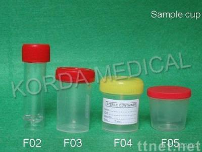 sample cup and urine cup