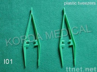 Forceps and Disposable Plastic Tweezers
