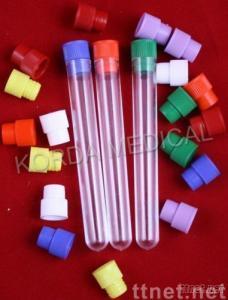 plastic test tube with Caps