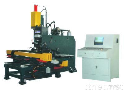 CNC Hydraulic Plate Punching, Drilling & Marking Machine